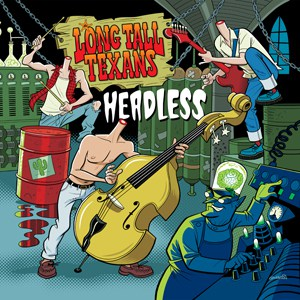Buy Online The Long Tall Texans - Headless 10-Inch Mini Album (Red Vinyl)