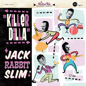 Buy Online Jack Rabbit Slim - Killer Dilla 10-Inch Mini Album (Coloured Vinyl)