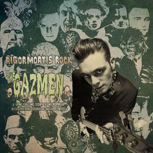 Buy Online The Gazmen - Rigormortis Rock 10-Inch EP (Coloured Vinyl) + Postcard Signed By Gary Day