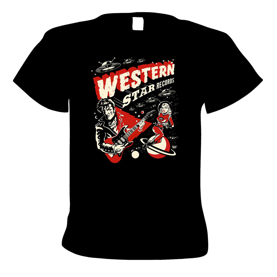 Buy Online Western Star - Western Star - 'Ray-Gun' Design T-Shirt