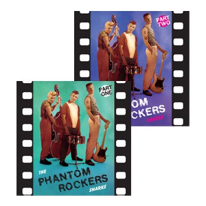 Buy Online The Sharks - Phantom Rockers Part 1 + Part 2 10-Inch Mini Album (Coloured Vinyl)