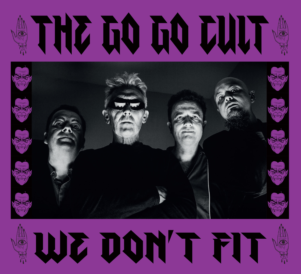 Buy Online The Go Go Cult - We Don't Fit DigiPak CD Album