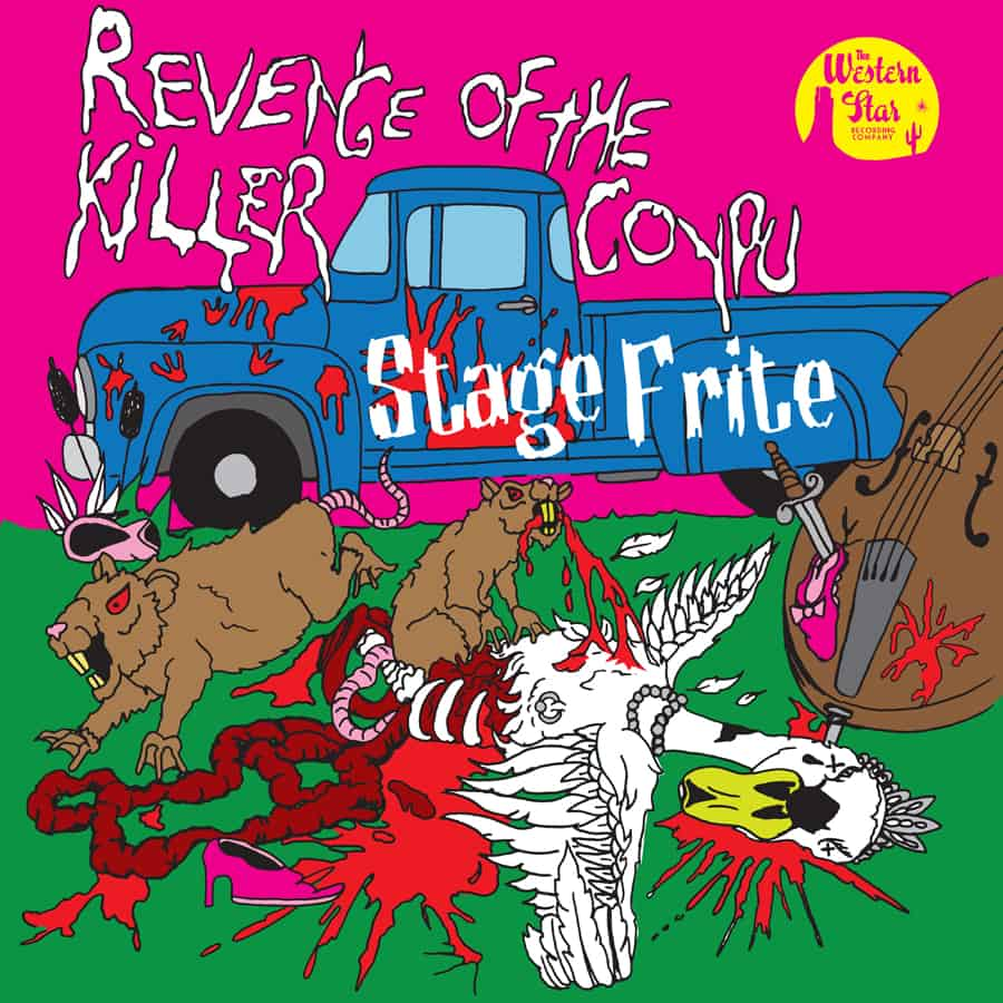 Buy Online Stage Frite - Revenge Of The Killer Coypu CD Album