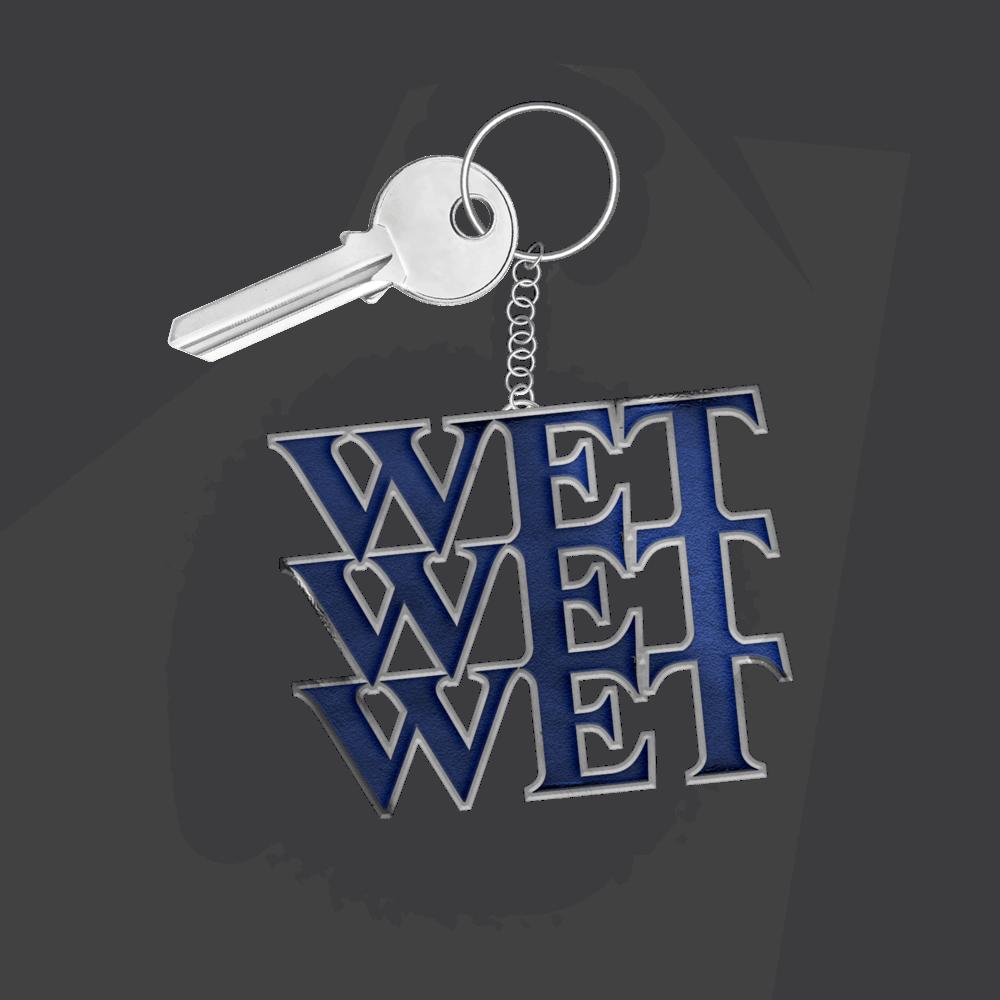 Buy Online Wet Wet Wet - Keyring