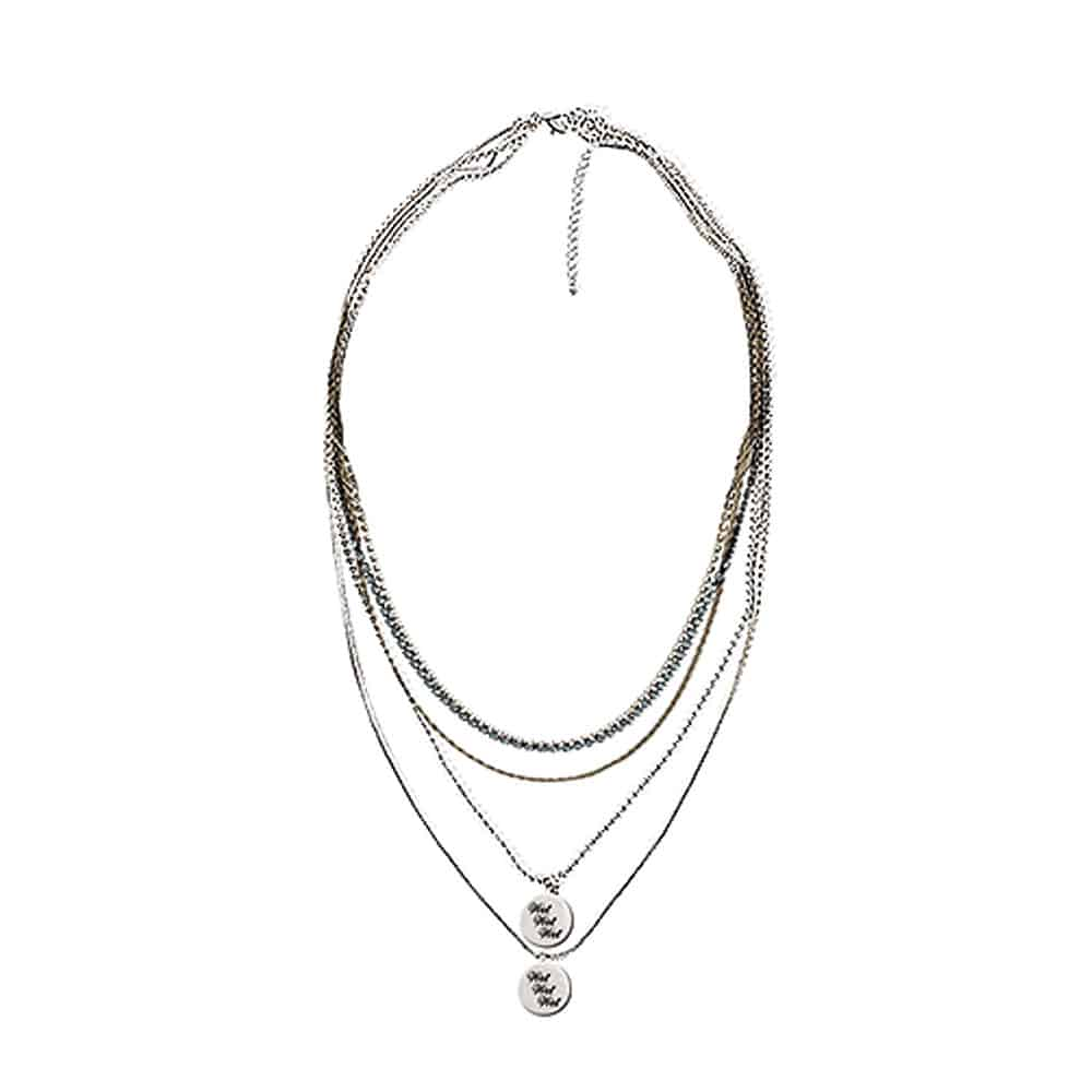 Buy Online Wet Wet Wet - Necklace with Pouch