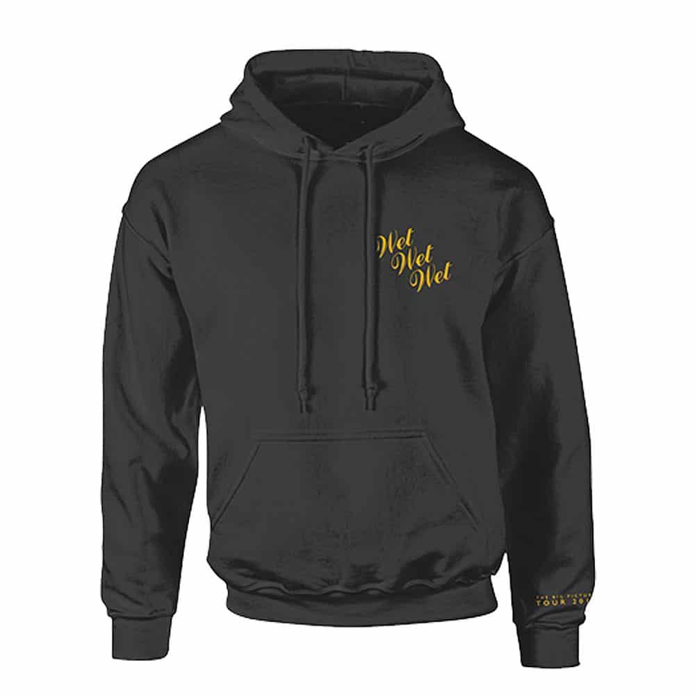 Buy Online Wet Wet Wet - Yellow Logo Hoody