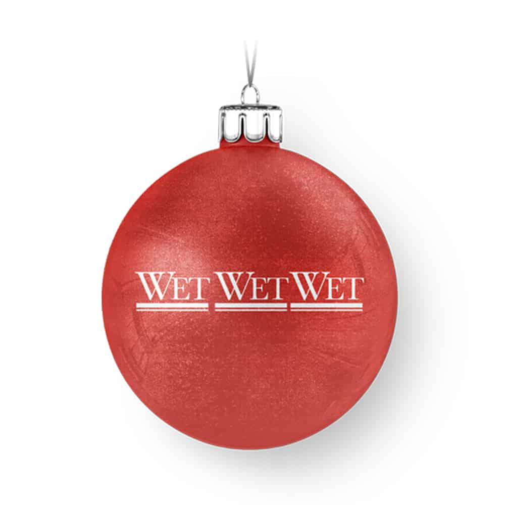 Buy Online Wet Wet Wet - Red Bauble