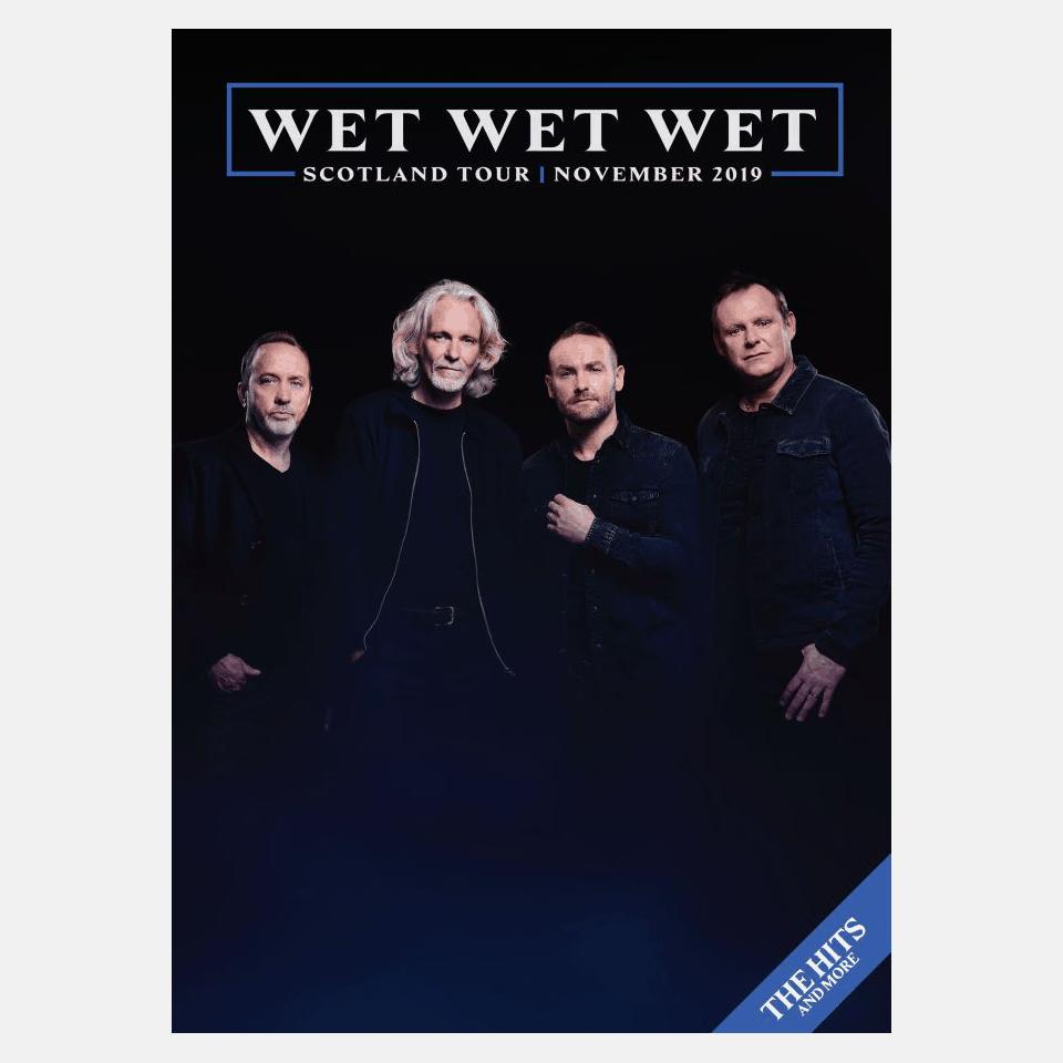 Buy Online Wet Wet Wet - Scotland Tour Programme