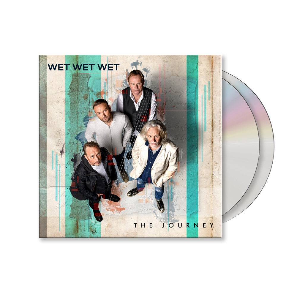 Buy Online Wet Wet Wet - The Journey Deluxe 2CD Special Edition CD Album (Signed)
