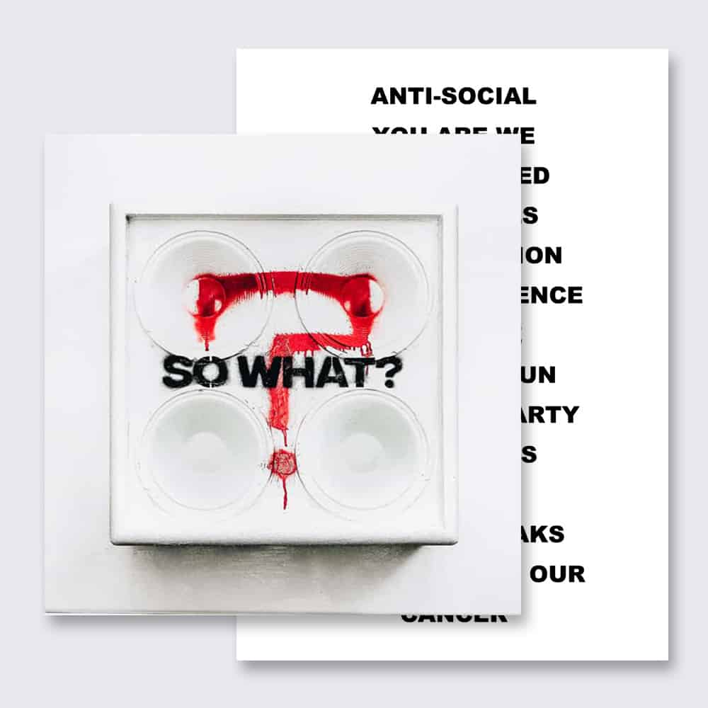 So What? CD Album*