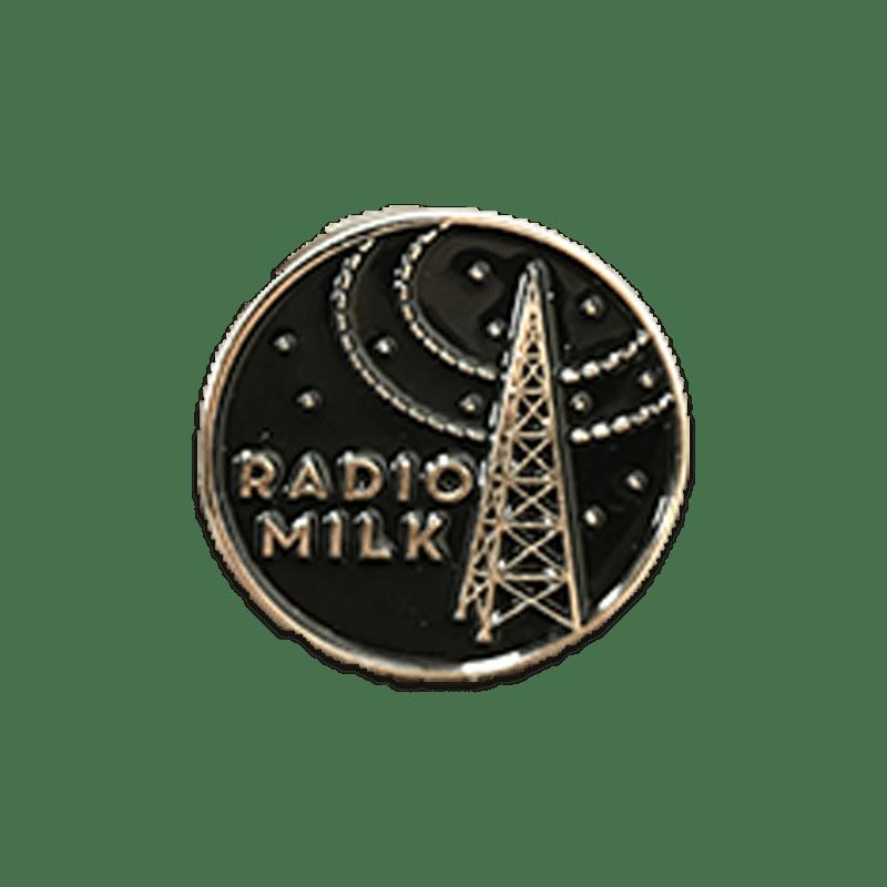 Radio Milk Pin
