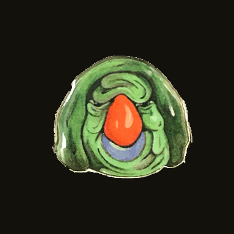 Bird Man Pin