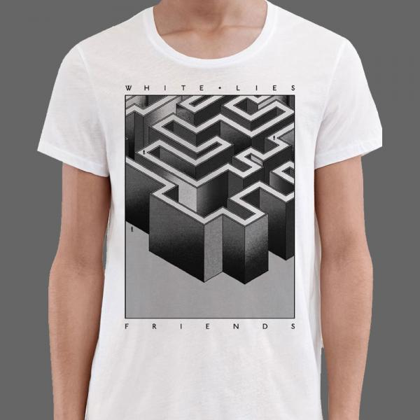 Buy Online White Lies - White T-Shirt