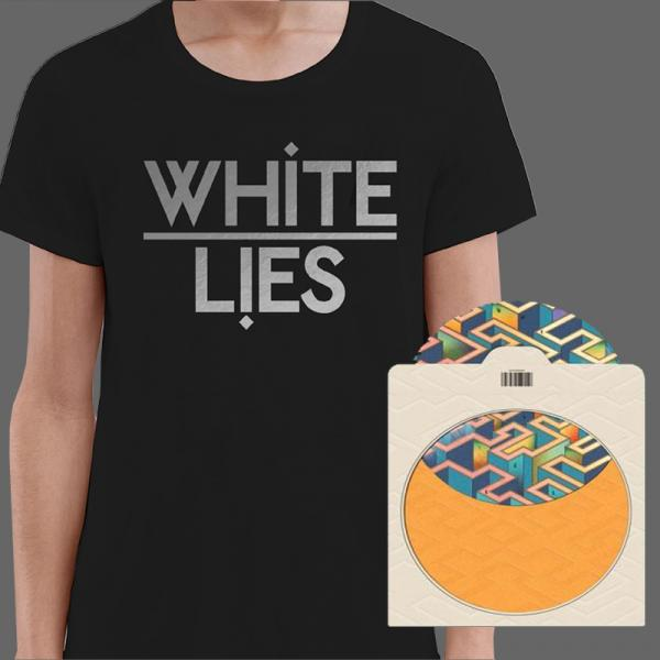 Buy Online White Lies - Friends (Picture Disc) & Black T-Shirt