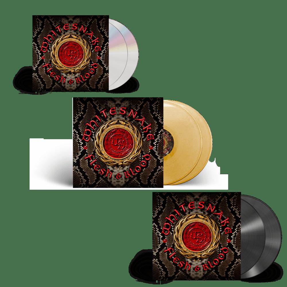 Buy Online Whitesnake - Flesh And Blood Deluxe Bundle