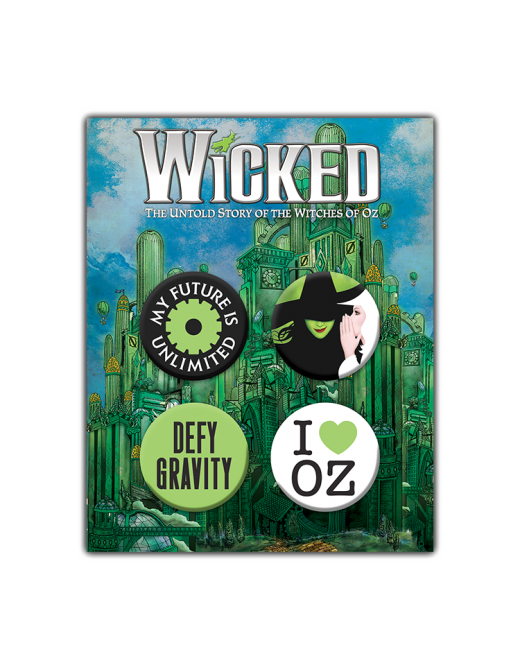 Buy Online Wicked - Button Set