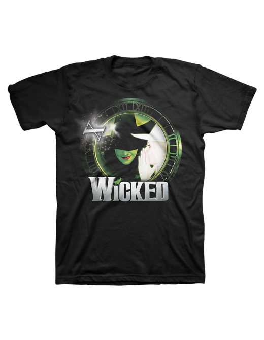 Buy Online Wicked - 10th Anniversary Clock Tee