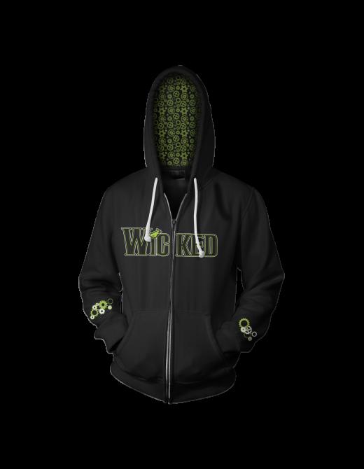 Buy Online Wicked - Organic Gears Hoodie
