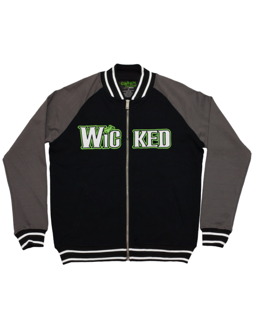 Buy Online Wicked - Organic Clock Track Jacket