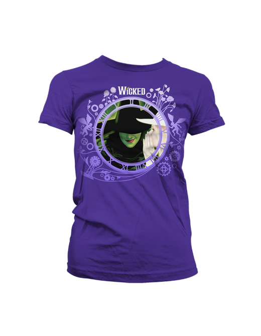 Buy Online Wicked - Purple Keyart Collage T-Shirt