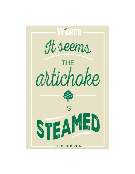 Buy Online Wicked - Artichoke Tea Towel