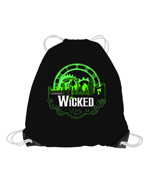 Buy Online Wicked - Drawstring Bag