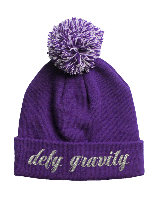 Buy Online Wicked - Defy Gravity Pom Beanie