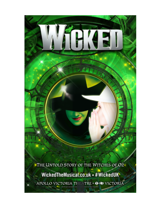 Buy Online Wicked - London Poster