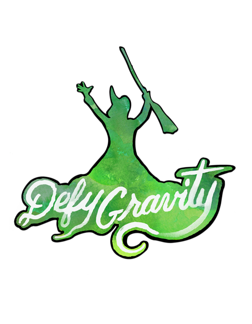 Buy Online Wicked - Defy Gravity Magnet