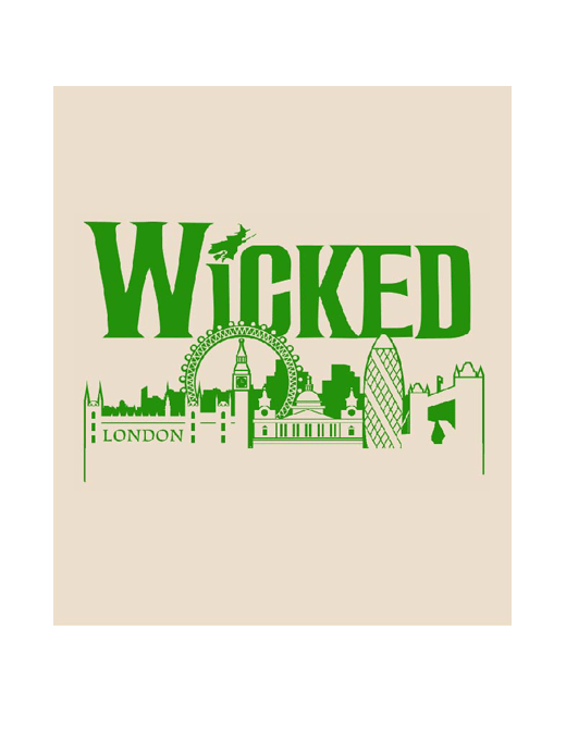 Buy Online Wicked - Skyline Tea Towel