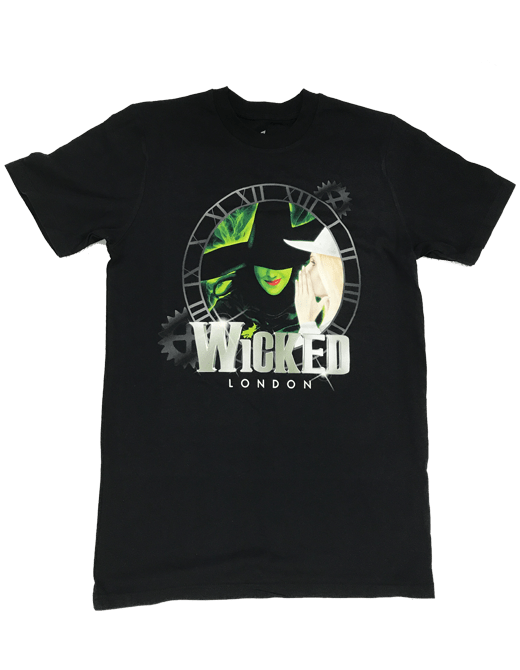 Buy Online Wicked - Wicked Clock T-Shirt