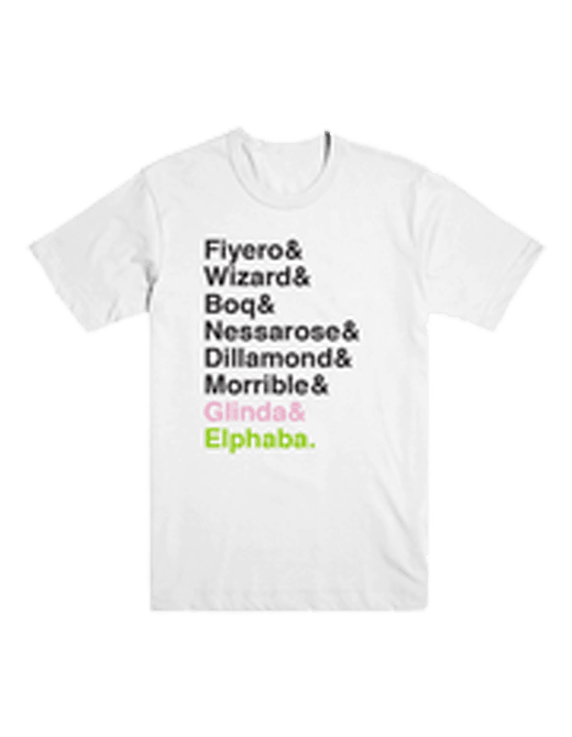 Buy Online Wicked - Names T-Shirt