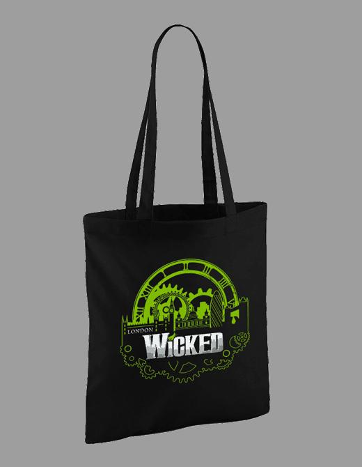Buy Online Wicked - Key Art Canvas Tote Bag