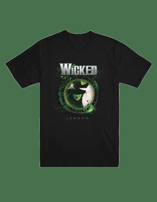 Buy Online Wicked - Wicked London Unisex Clock T-Shirt