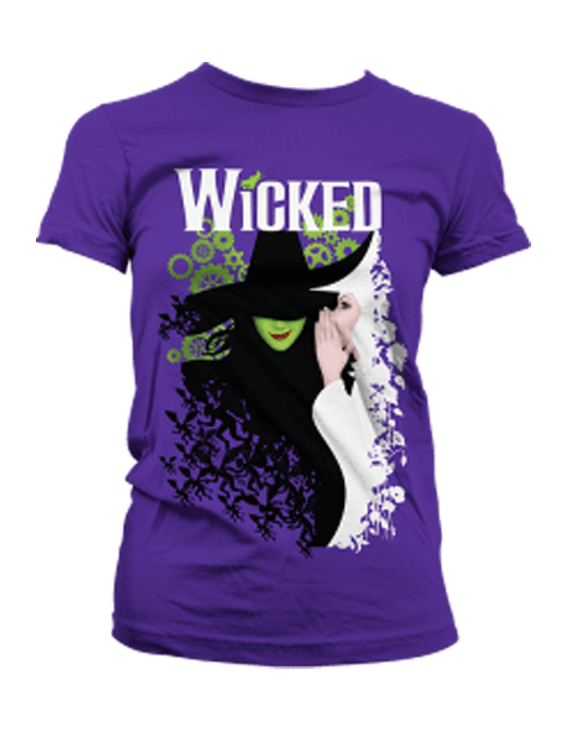 Buy Online Wicked - Purple Fade Keyart Tee