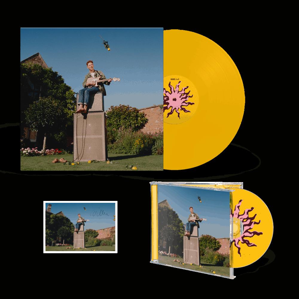 Twin Heavy Yellow Vinyl + CD + A6 Postcard