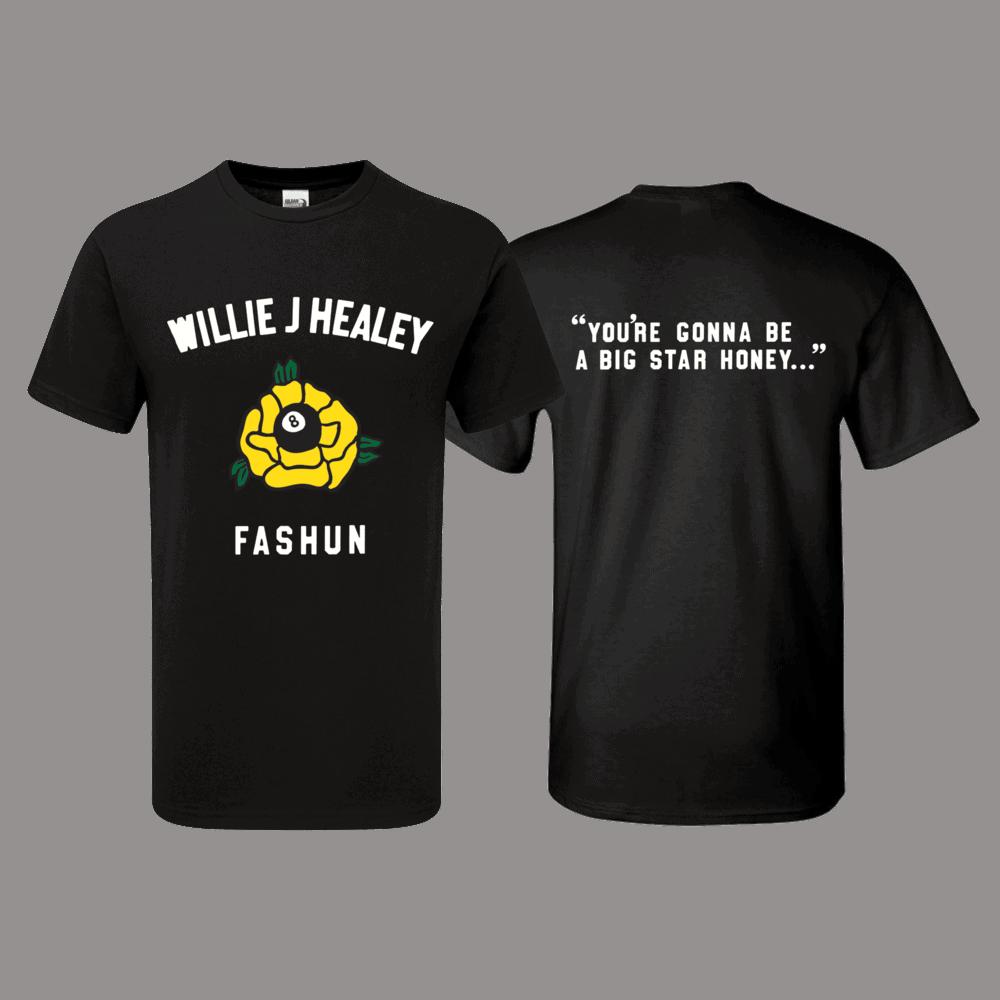 Buy Online Willie J Healey - Fashun Black T-Shirt