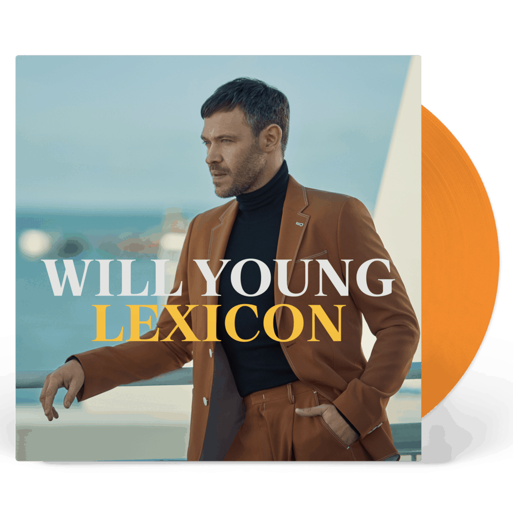 Buy Online Will Young - Lexicon Orange + Signed 12-Inch Album Print