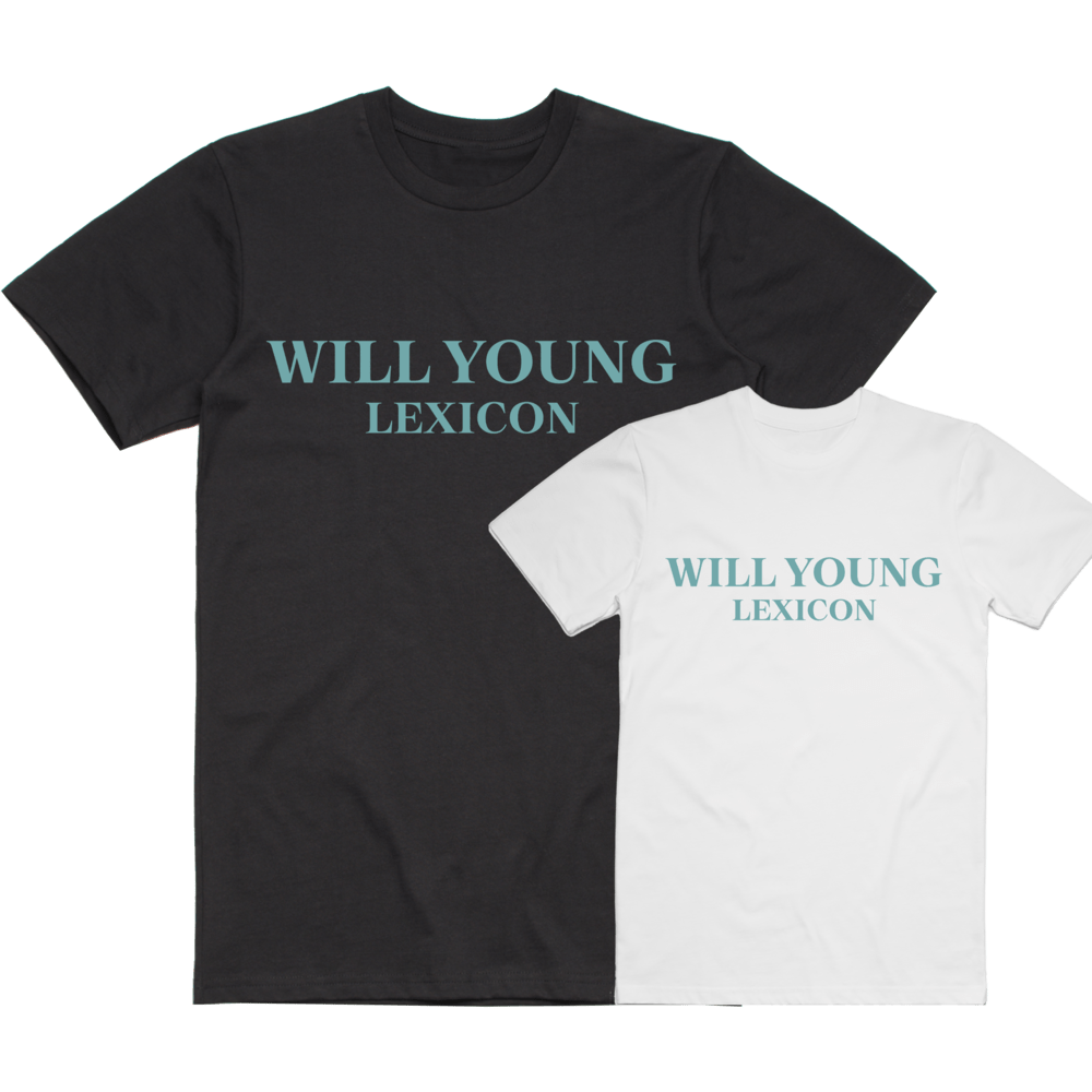 Buy Online Will Young - Lexicon T-Shirt