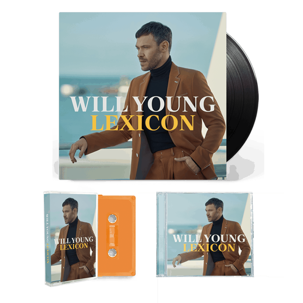 Buy Online Will Young - Lexicon CD + Vinyl + Cassette