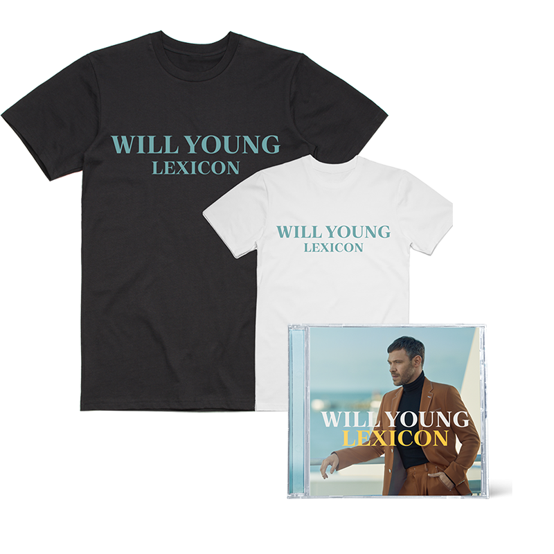 Buy Online Will Young - Lexicon CD + T-Shirt