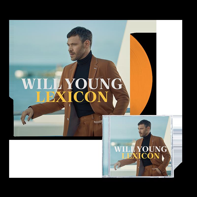 Buy Online Will Young - Lexicon Ltd Orange Vinyl + CD