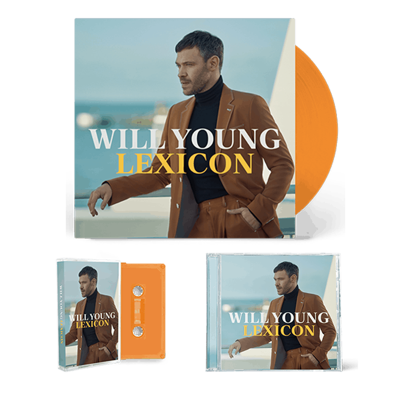 Buy Online Will Young - Lexicon Ltd Orange Vinyl + CD + Cassette