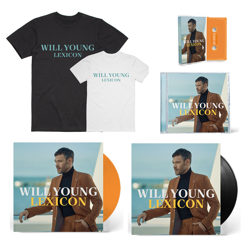 Buy Online Will Young - Lexicon Super Deluxe Album Bundle