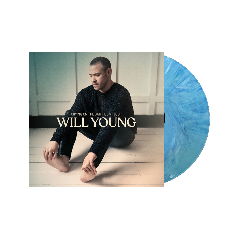 Buy Online Will Young - Crying On The Bathroom Floor Exclusive Turquoise Marble Vinyl