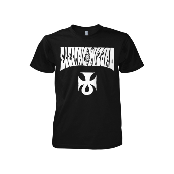 Buy Online Witchfinder Records - EW Official 666 Logo T-Shirt front print only