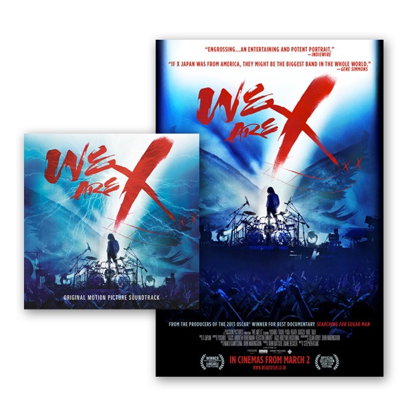 We Are X CD Album + Ltd Edition Numbered Print