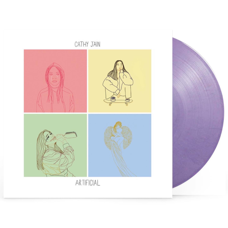 Buy Online Cathy Jain - Artificial EP Lavender Colour 12-Inch Vinyl