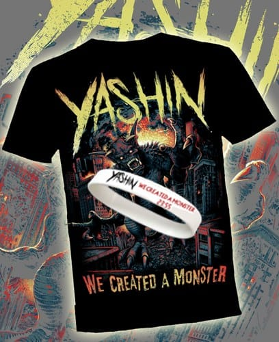 Buy Online Yashin - Limited Edition T-shirt, Wristband
