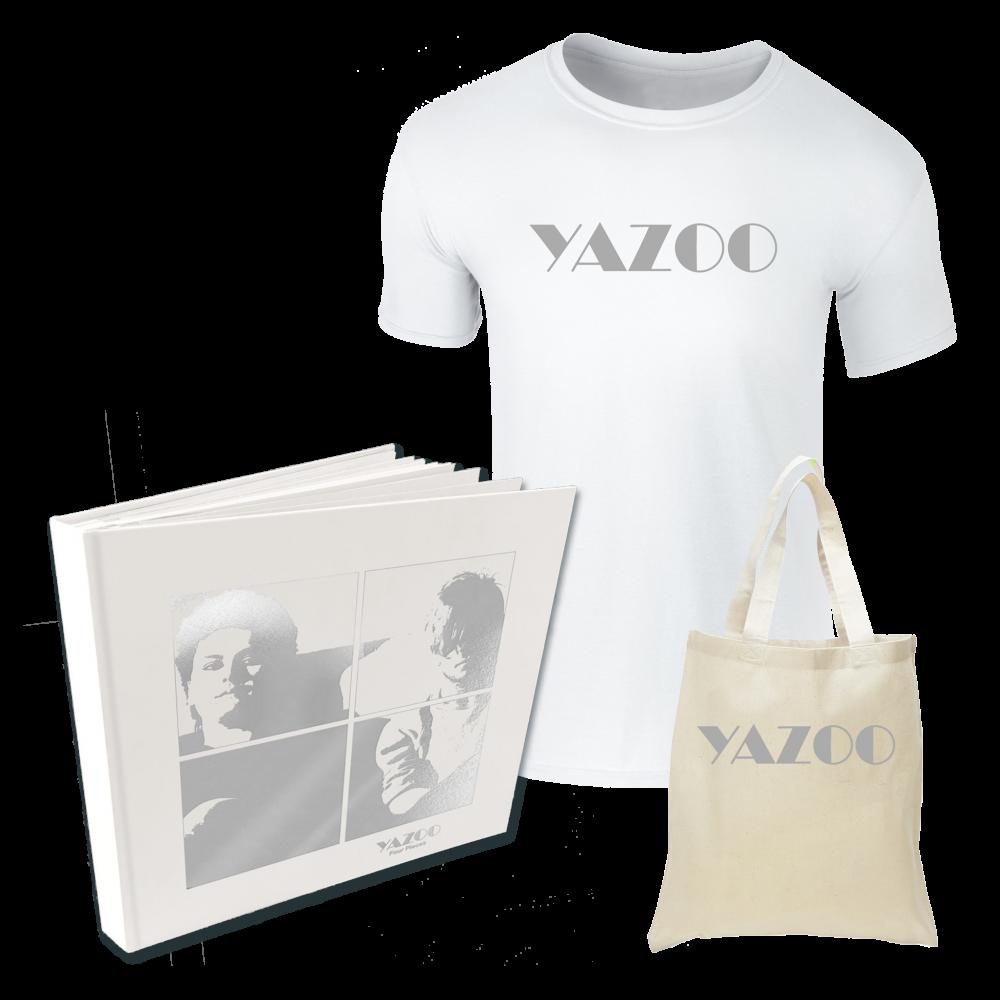 Buy Online Yazoo - Four Pieces: A Yazoo Compendium 4LP Vinyl + White Tee + Tote Bag